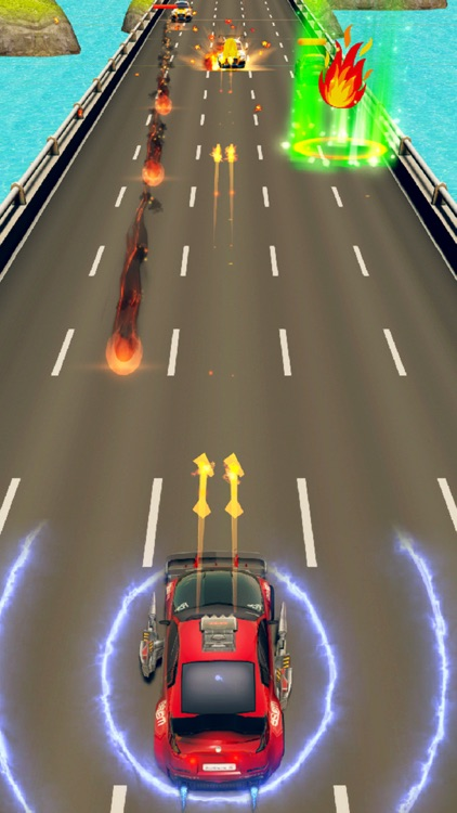 Car Riot Death Race 3D screenshot-0