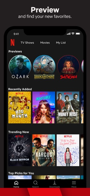 ‎Netflix Screenshot