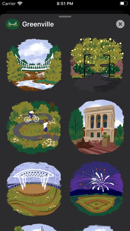 Greenville Stickers