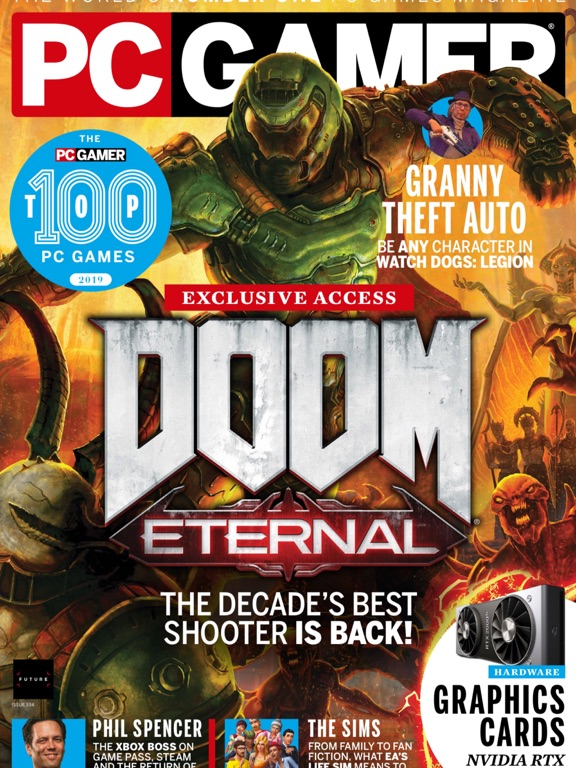 PC Gamer (UK): the world's No 1 PC gaming magazine | App