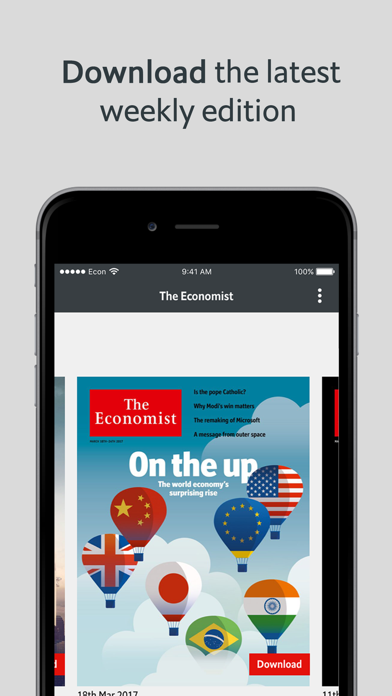 The Economist Classic US Screenshot