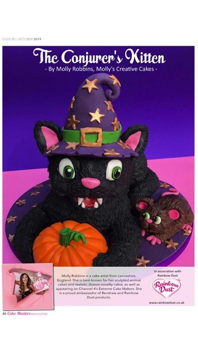 Cake Masters Magazine Screenshot