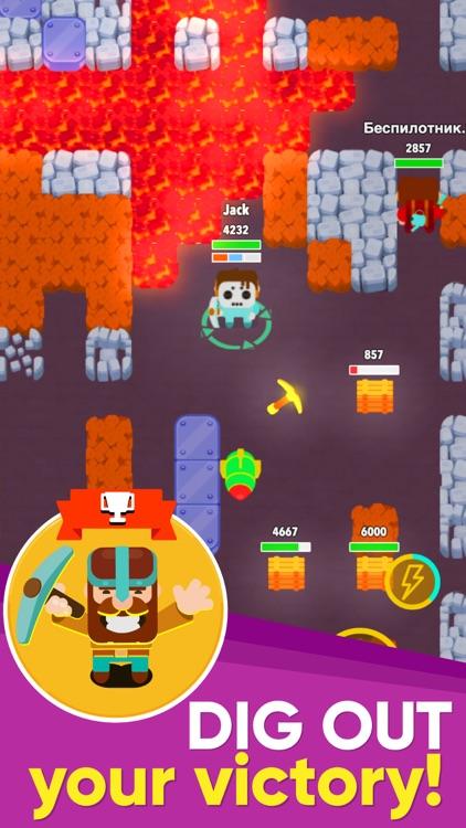 Dig Bombers: Battle Royale screenshot-5