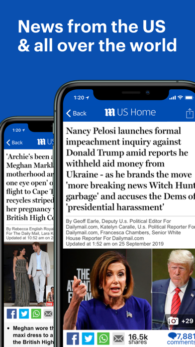 Mailonline review screenshots
