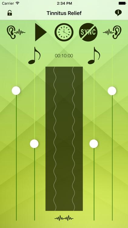 Tinnitus Relief Sound Masking screenshot-4