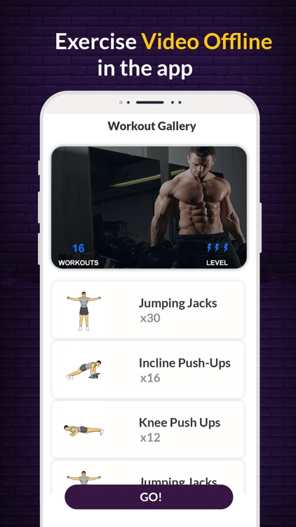 Gym workout - Gym trainer screenshot-1