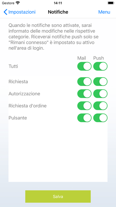 Screenshot of TRUMPF Easy Order App4