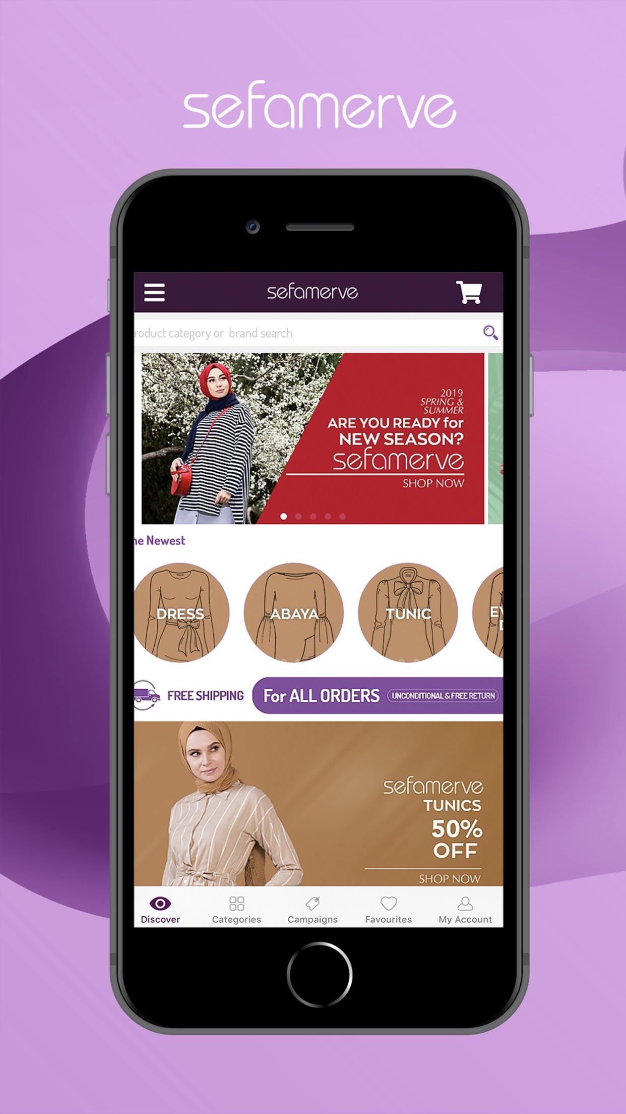 Sefamerve: Shopping for Muslim Screenshot