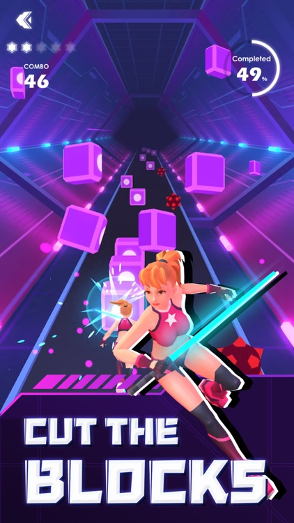 Beat Sword - Rhythm Game screenshot-4