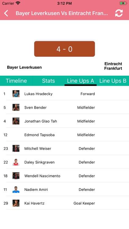 One Stop Football - Live Score screenshot-7