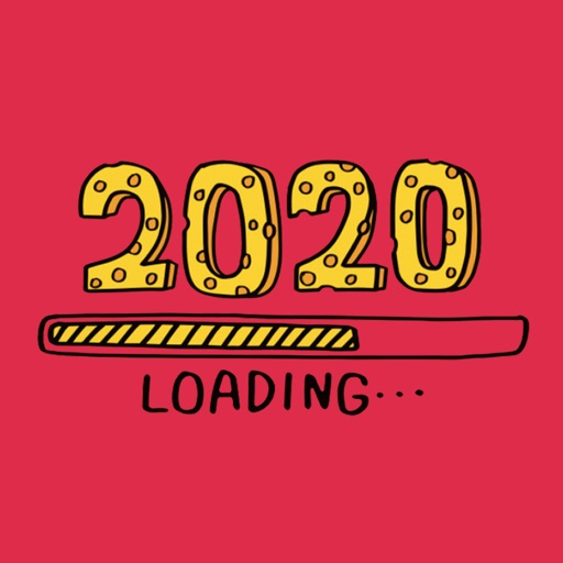 New Year 2020 Party Stickers