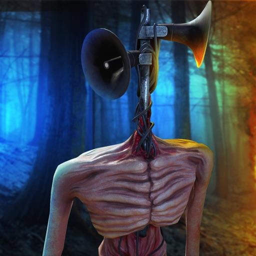 Siren Head Scary Horror Forest