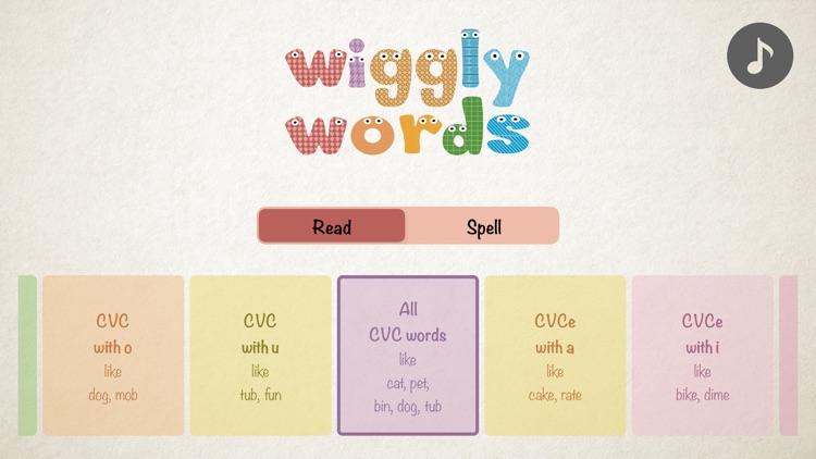 Wiggly Words: Phonics for kids screenshot-0
