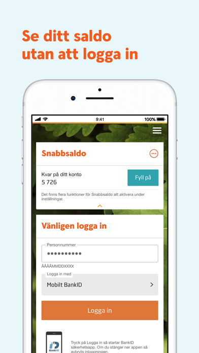 Screenshot for Swedbank privat in Portugal App Store