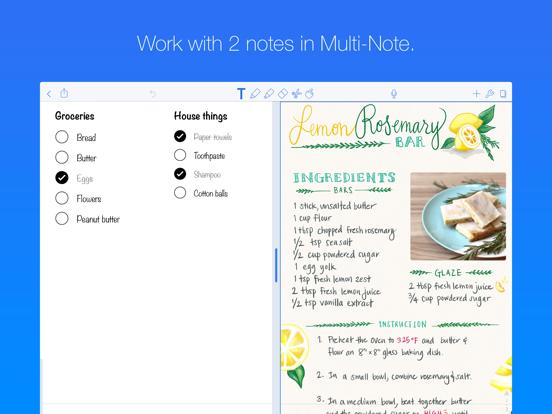 Notability Screenshots