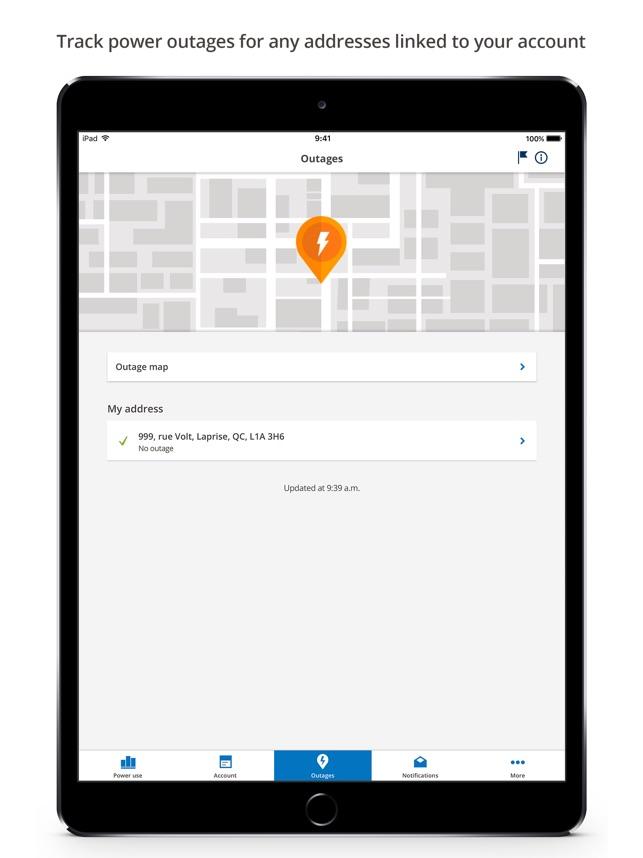 Hydro-Québec on the App Store