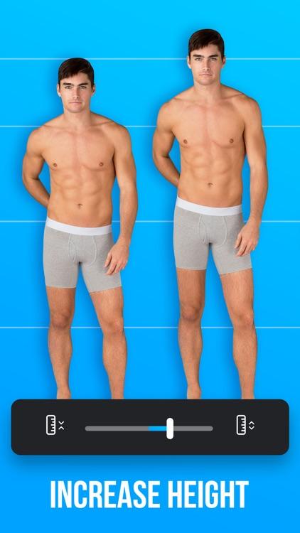 Man Editor: Slim & Skinny Body