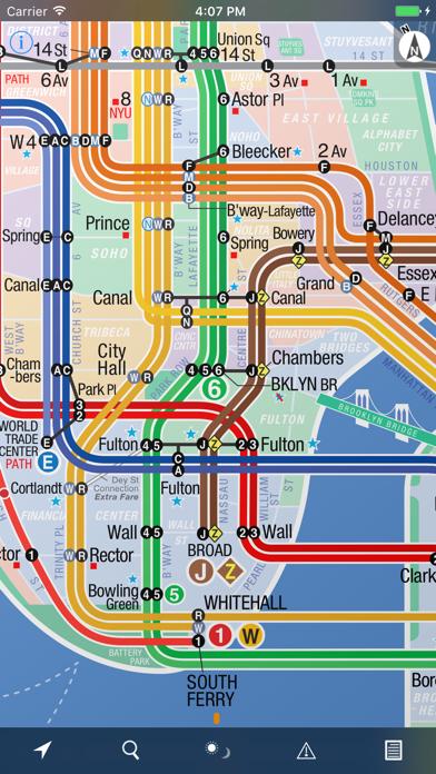 Nyc Subway 24 Hour Kickmap review screenshots