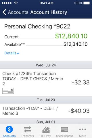 Xplore FCU Mobile Banking - náhled