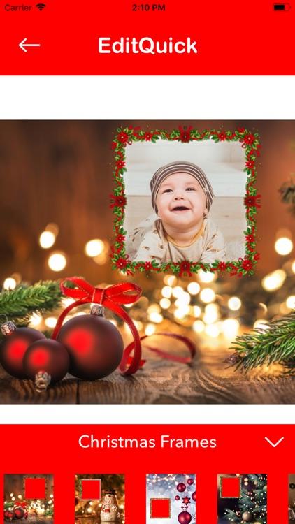 Christmas Photo Editor Collage screenshot-3