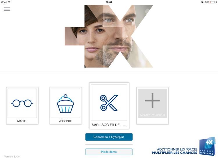 Banque Populaire pro pour iPad