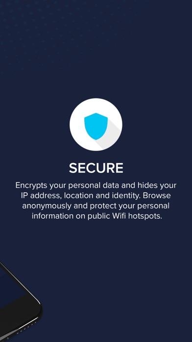 Secnet VPN Screenshot