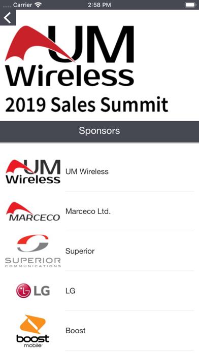 UMWireless Event Portal screenshot 4