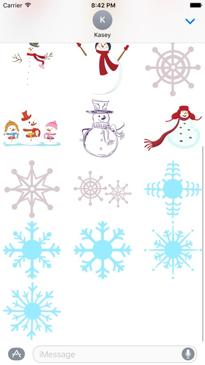 Winter Stickers Pack