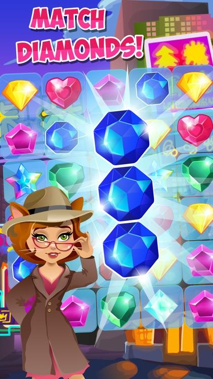 Jewels Detective Shiny Мatch 3