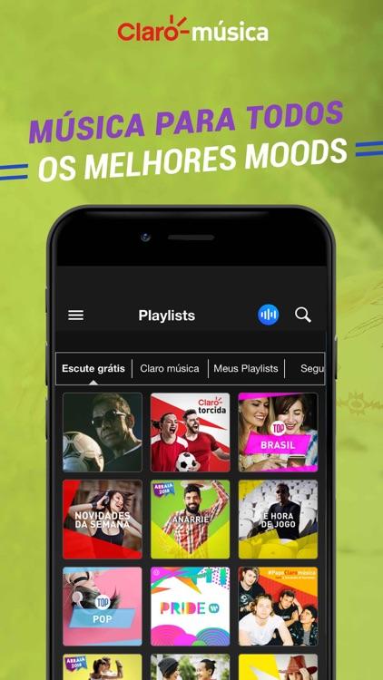 Claro Música Brasil screenshot-4