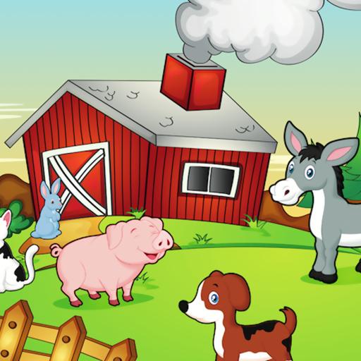 Happy Farm For Kids icon