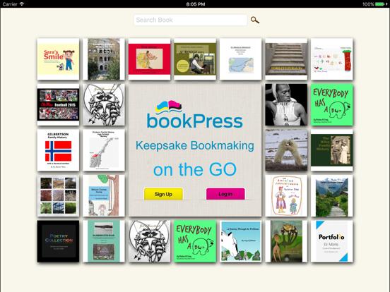 bookPress - Best Book Creator screenshot one