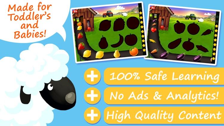 Farm Puzzles - Shapes & Colors screenshot-0