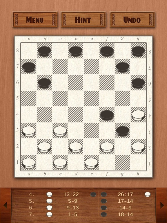 Checkers screenshot