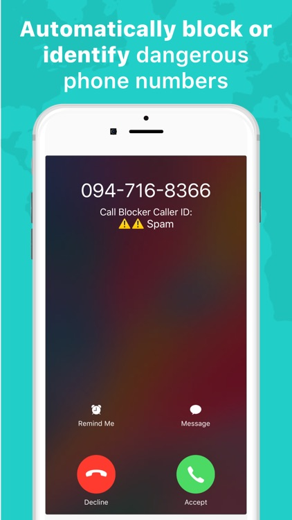 Call Blocker: Block spam calls