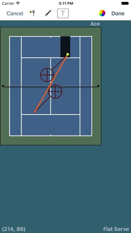Tennis Score Tracker (Blue) screenshot-3