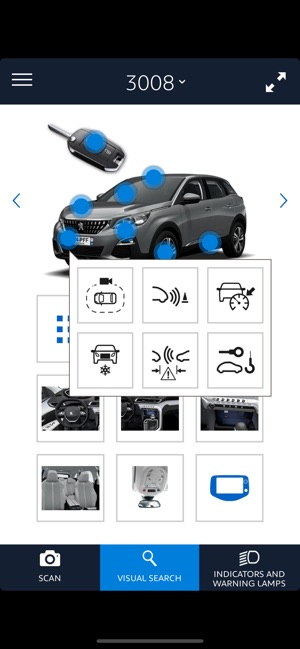 Scan MyPeugeot App on the App Store