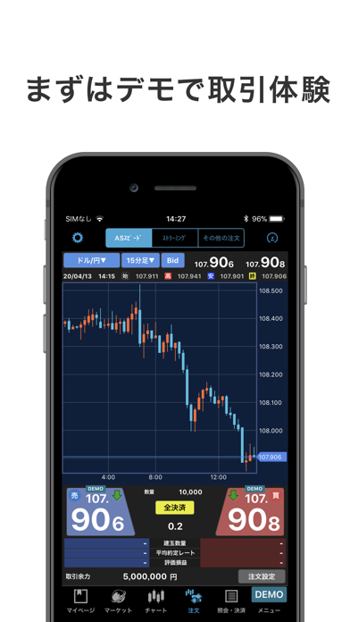 iSPEED FX - 楽天証券のFXアプリ ScreenShot4