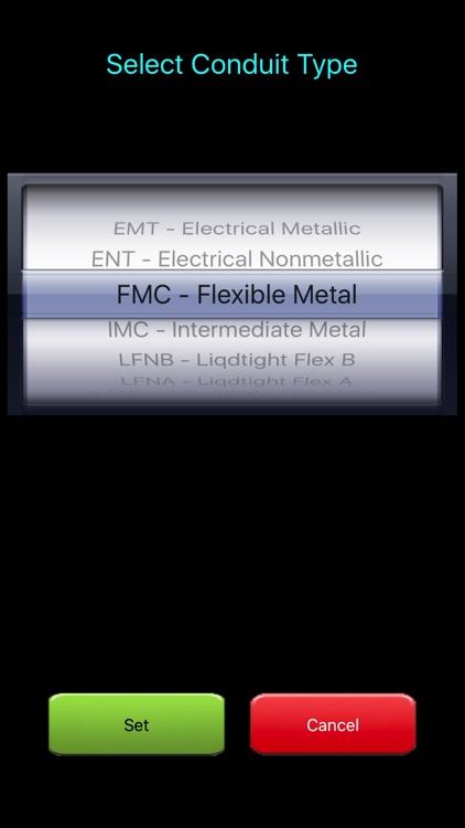 Electrical Calc Elite screenshot-4