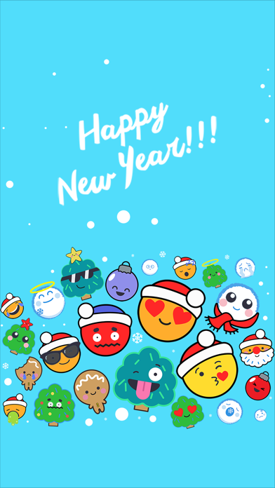 New Year Emoticons screenshot one