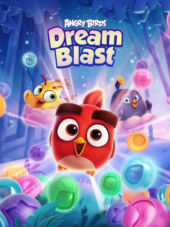 iPad Image of Angry Birds Dream Blast