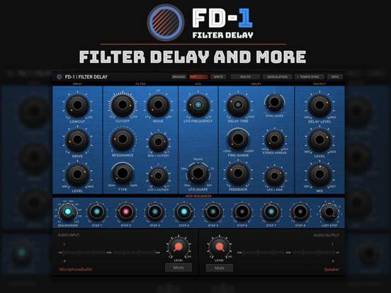 FD-1 Filter Delay Universal Update | discchord