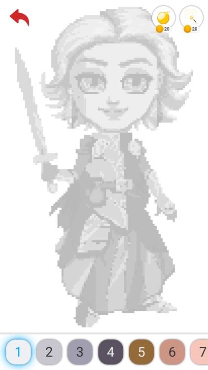 Pixel Art- Color Number screenshot-4