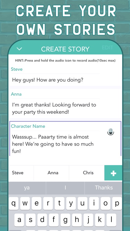 TEXTY: Chat Stories Text Story screenshot-5