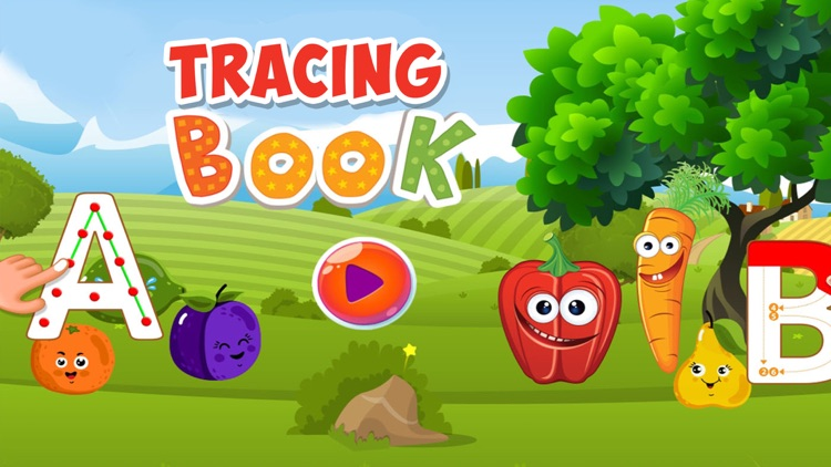 Trace ABC Letter Learning Book