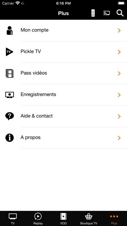 TV d'Orange screenshot-6
