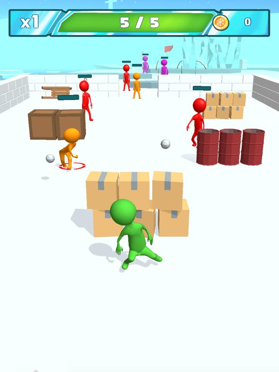 Snowballs fight screenshot 5