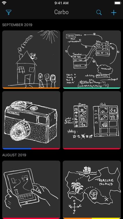 Carbo › Digital Notebook screenshot-5
