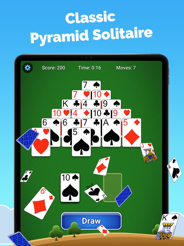 Pyramid Solitaire Card Game On The App Store
