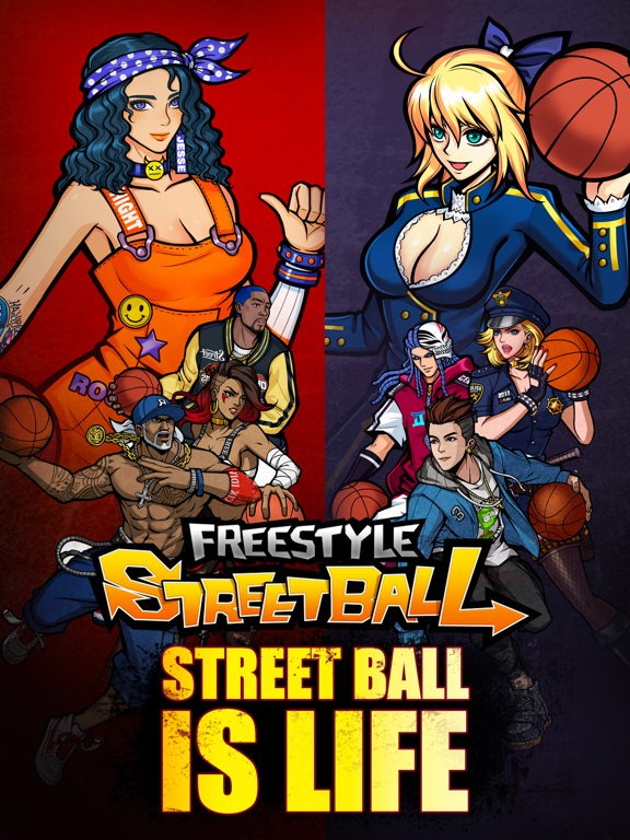 3on3 Freestyle Basketballのおすすめ画像1